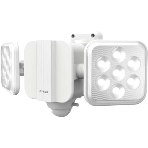 ムサシ LED-270 5W×2灯 フリーアーム式LED乾電池...