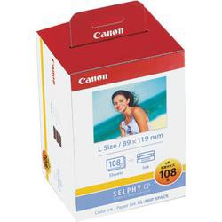 CANON KL-36IP 3PACK カラーインク/ペーパーセッ...