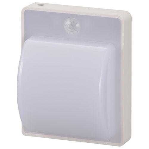 オーム電機 NIT-AE1W14-W 明暗・人感センサー式ナ...