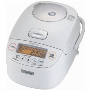 象印 NP-BJ10-WA(ホワイト) 極め炊き 圧力IH炊飯...