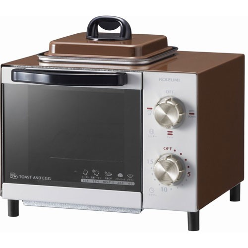 コイズミ KOS0703T(ブラウン) オーブントースター...