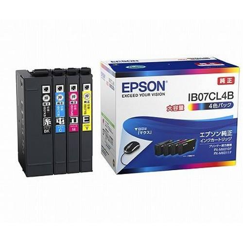 エプソン IB07CL4B 純正 インクカートリッジ 4色...