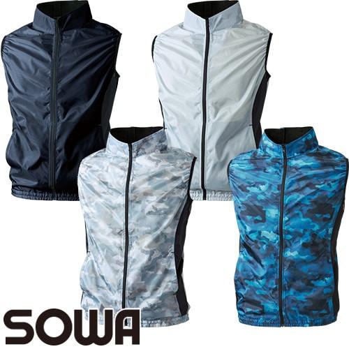 桑和 SOWA 空調服 服のみ 涼しい 熱中症対策 EF用...