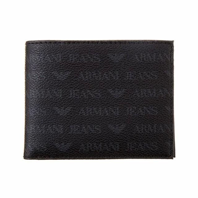 アルマーニジーンズ メンズ 二つ折り財布/Armani ...