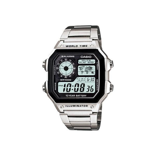 カシオ メンズ 腕時計/CASIO スタンダード 10年バ...
