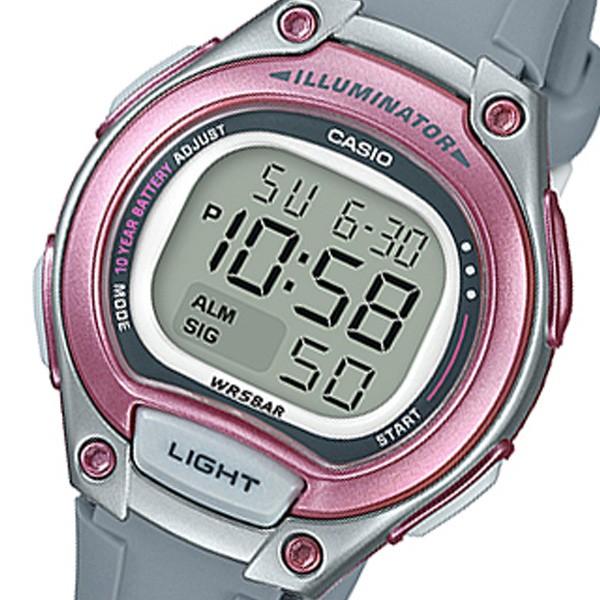 カシオ レディース 腕時計/CASIO デジタル クロノ...