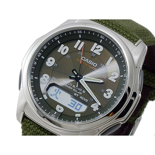 カシオ メンズ 腕時計/CASIO ウェーブセプター WA...