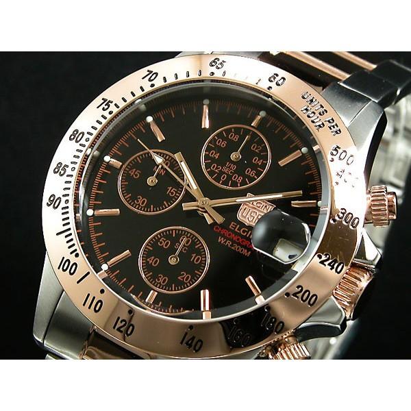 エルジン メンズ 腕時計/ELGIN クロノグラフ 200...