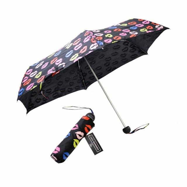 [即日発送]フルトン レディース&メンズ 折りたたみ傘 折り畳み傘 雨傘/Fulton Minilite-2  LuluGuinnessコラボレーション 折りたたみ傘