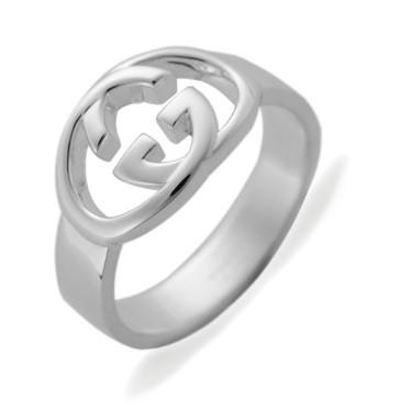 ebea12b003ea グッチ レディース&メンズ リング 指輪8号/GUCCI ロゴ リング 指輪 シルバーの通販はWowma!(ワウマ) -  ブランドショップvolume8|商品ロットナンバー:218454189