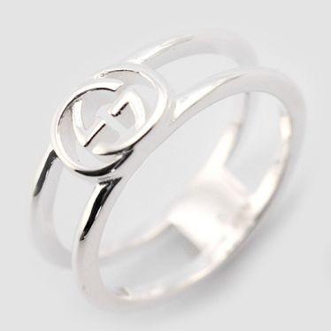 0da46849b7e5 [即日発送]グッチ レディース&メンズ リング 指輪8号/GUCCI ロゴ リング 指輪 シルバーの通販はWowma!(ワウマ) -  ブランドショップvolume8|商品ロットナンバー: ...