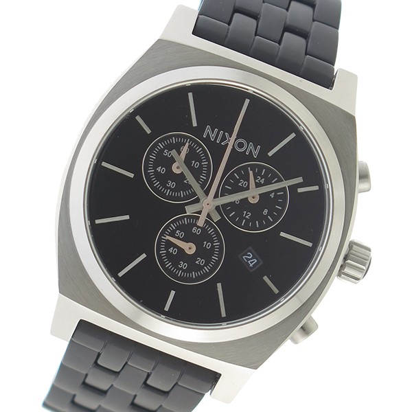 4518de4102 ニクソン メンズ 腕時計/NIXON クロノグラフ 100m防水 腕時計 ブラックの通販はWowma!(ワウマ) - ブランドショップvolume8| 商品ロットナンバー:311423463