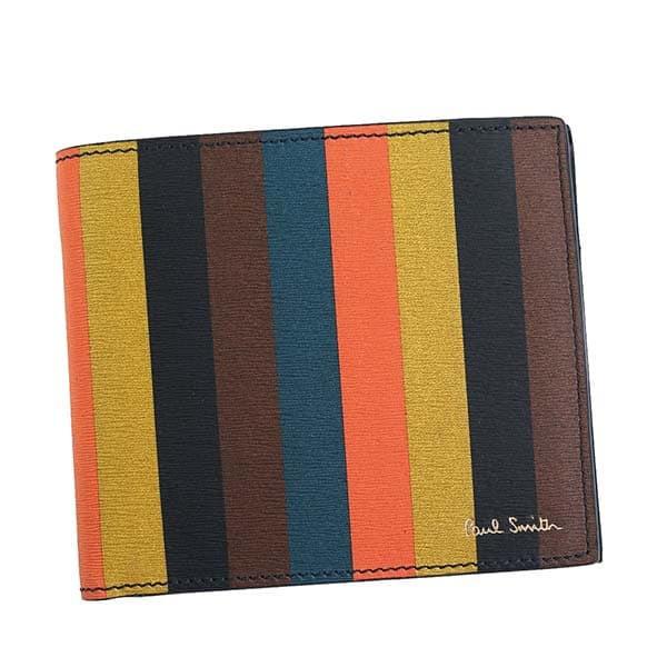 ポールスミス メンズ 二つ折り財布/PaulSmith BIF...
