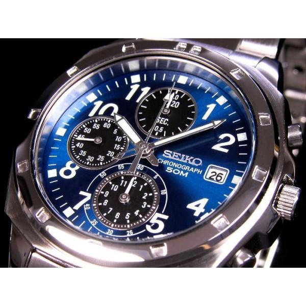 セイコー メンズ 腕時計/SEIKO クロノグラフ 腕時...