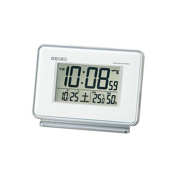 セイコー 置き時計 おき時計/SEIKO 電波時計 電波...