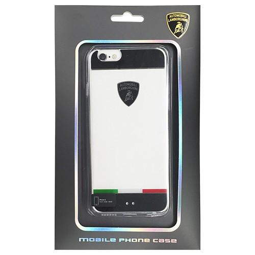 Lamborghini 公式ライセンス品 TPU+PC clear Jacket iPhone6 用 LB-TPUPCI