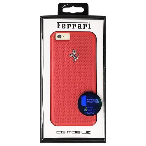 Ferrari 公式ライセンス品 PERFORATED - Hard Case - Aluminum Plate - R