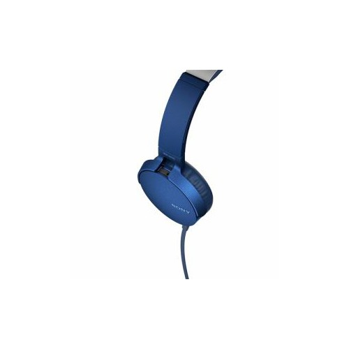 ソニー MDRXB550APLC マイク&コントローラー搭載 ダイナミック密閉型ヘッドホン (ブルー)