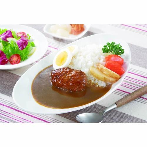 麻布タカノ ~カフェ飯シ~ ミニハンバーグカレー30個セット AZB1013X30