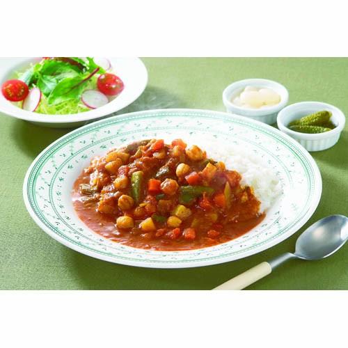 新宿中村屋 プチカレー彩り野菜と豆20個セット AZB1743X20