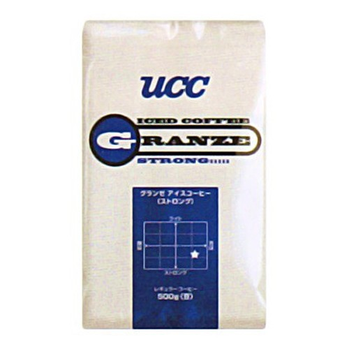 UCC上島珈琲 UCCグランゼストロングアイスコーヒー豆AP500g 12袋入り UCC301191000