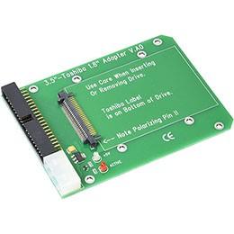 """変換名人 1.8""""HDD→3.5""""HDD変換(固定) IDE-18A35AF"""