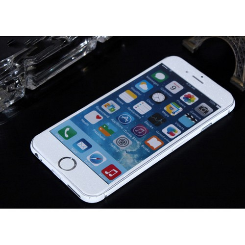 ITPROTECH 全面保護スキンシール for iPhone6/ホワイト YT-3DSKIN-WH/IP6