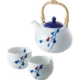 miyama. fucube 茶器セット(染付六ツ瓢) B3020017