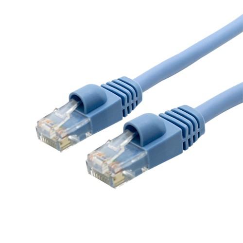 ミヨシ ハイグレードLANケーブル 単線 1m ライトブルー TWI-T601LB
