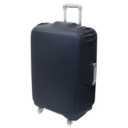 ミヨシ 撥水スーツケースカバー Lサイズ ブラック MBZ-SCL3/BK