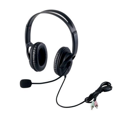 エレコム ヘッドセット(両耳大型オーバーヘッドタイプ) HS-HP28BK