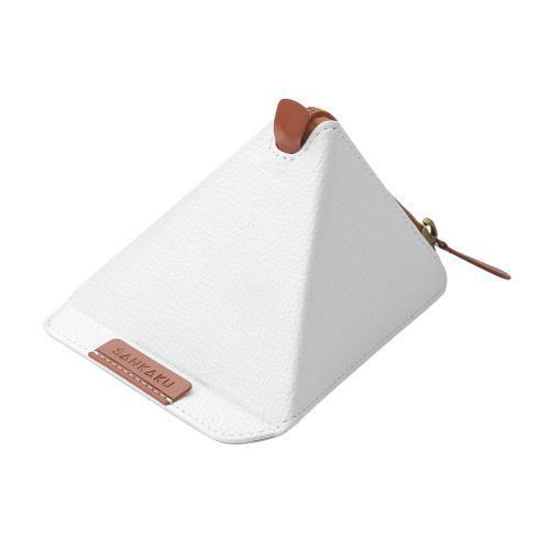 エレコム タブレット用三角スタンド(ソフトレザー) TB-DSSANLWH
