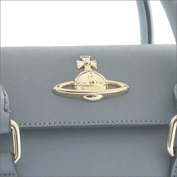 ヴィヴィアンウエストウッド Vivienne Westwood バッグ ハンドバッグ ショルダーバッグ ライトブルー 42010032 PIMLICO SMALL BLUE