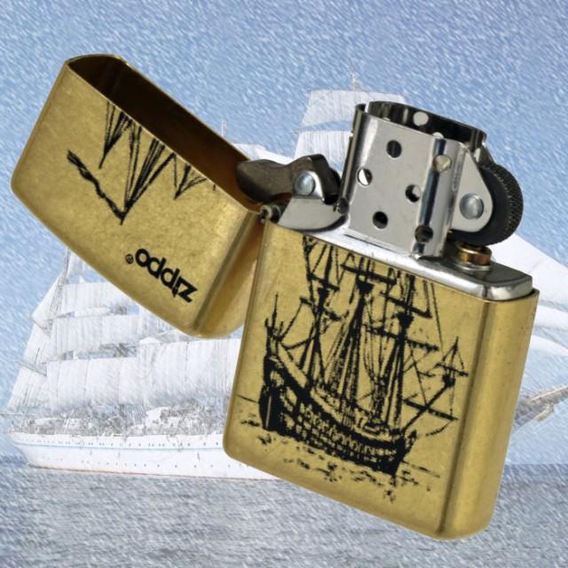 zippo(ジッポーライター)帆船 200ベース ハンセン Gバレル ゴールドバレル 画像4