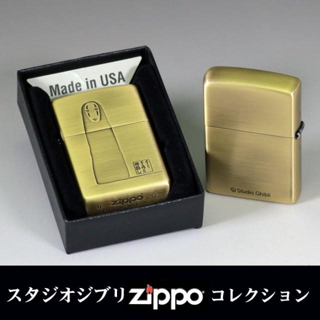 zippo(ジッポーライター)スタジオジブリ ジッポー 千と千尋の神隠し カオナシ 2 真鍮古美 画像2