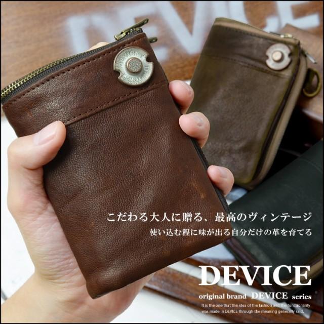 DEVICE ヴィンテージ 二つ折り 財布