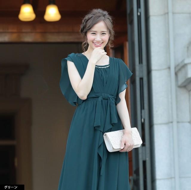パーティードレス 結婚式 ドレス お呼ばれ 20代 30代 40代 服 ワンピース
