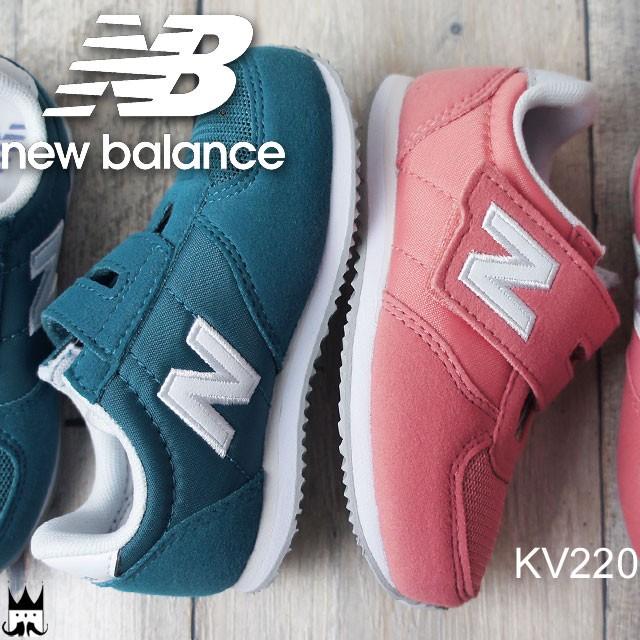 21d6202e0067a ニューバランス new balance 男の子 女の子 子供靴 ベビー キッズ チャイルド スニーカー KV220 ファーストシューズ ベルクロ 運動