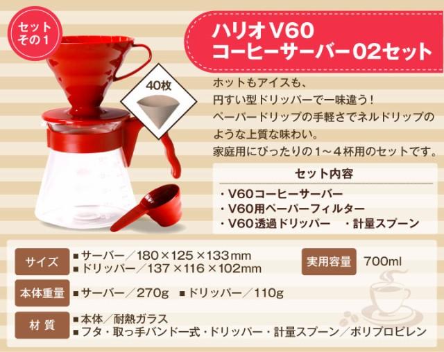 ハリオV60コーヒーサーバー02セットの紹介