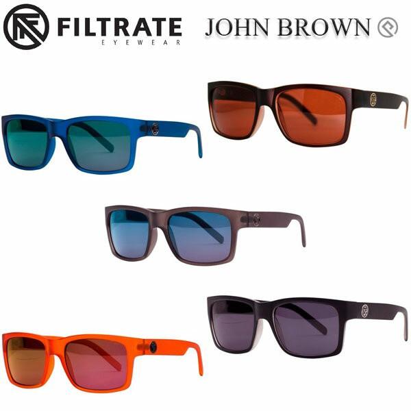 FILTRATE 【フィルトレート】 サングラス JOHN BROWN 【ジョン・ブラウン】 フィルトレイト