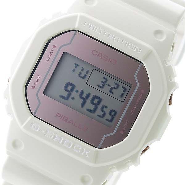 ec7e8b8ee36 腕時計 ユニセックス カシオ CASIO Gショック G-SHOCK ピガール PIGALLE DW-5600PGW-