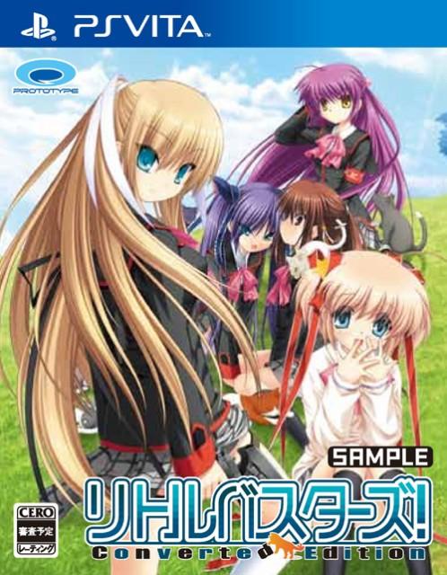 リトルバスターズ Converted Edition PSVita ソフト VLJM-35002 / 中古 ゲーム
