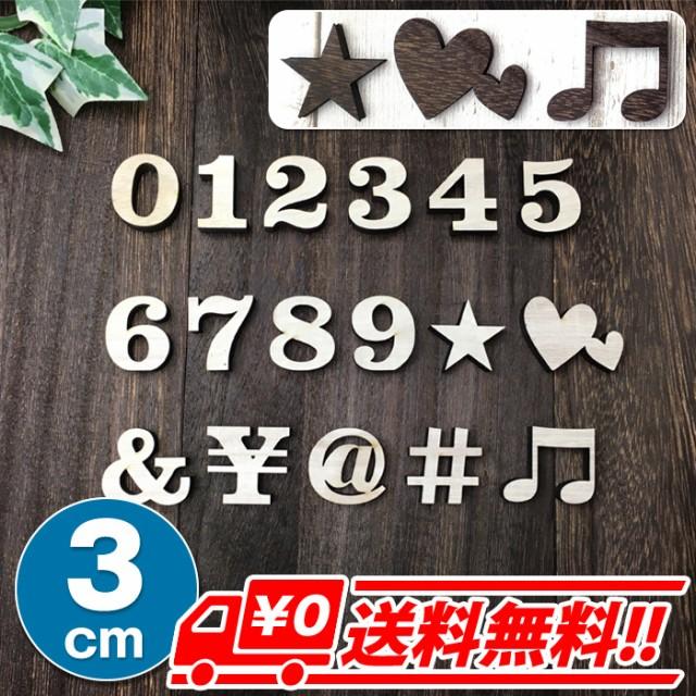 【3cm】数字(0〜9)記号(7種)