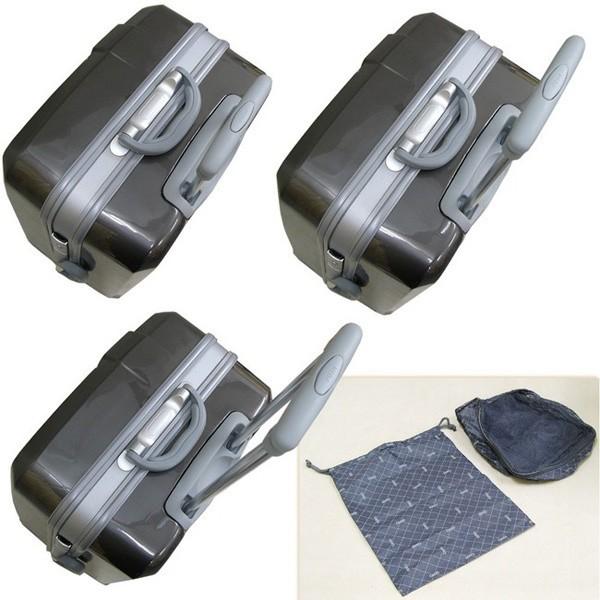 キャリーケース TSAロック付 ABS樹脂製 ハードキャリー 海外旅行用キャリー コロコロ - エイムキューブ画像7