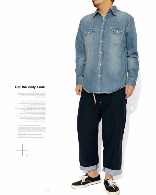 デニムシャツ メンズ 大きいサイズ