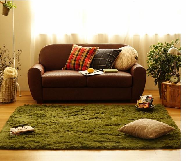 ラグ カーペット 185cm 正方形 丸洗い可能 防臭 抗菌 加工 滑り止め 床暖房対応