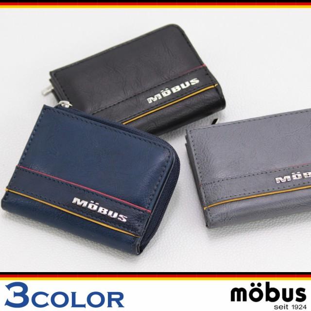 906e90461c2b 財布 mobus モーブス メンズ MOS-310 合皮2つ折り財布 ウォレット レディース ロゴ 小銭