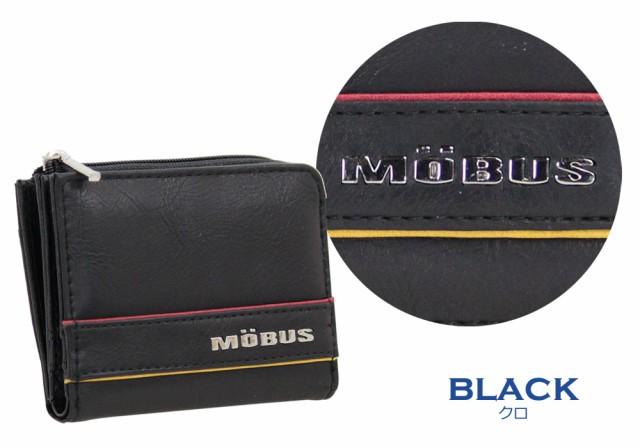 財布 mobus モーブス メンズ MOS-310 合皮2つ折り財布 ウォレット レディース ロゴ 小銭入れ カード入れ 高校生 財布 大学生 メンズ財布