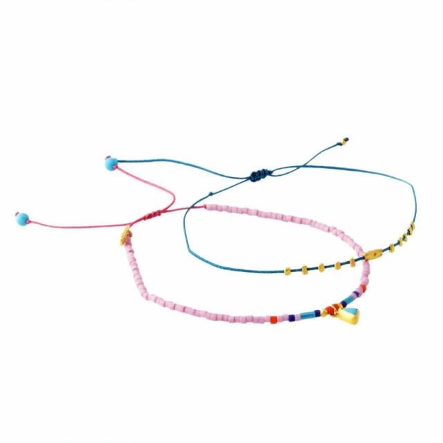 チャンルー CHAN LUU BG-5254 D LK MIX Dainty Bracelet シングルブレスレット 2本セット