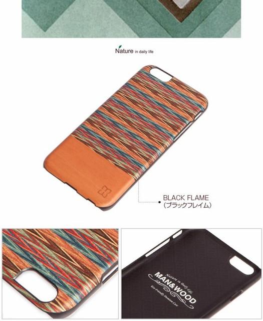 マンアンドウッド ブラウニーチェックiPhone6カバー